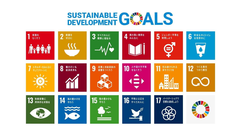 SDGsのロゴマーク